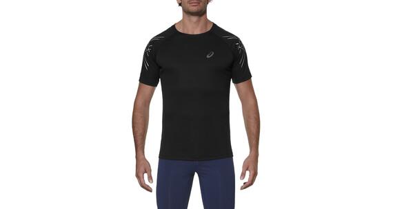 asics Stripe - Camiseta Running Hombre - negro